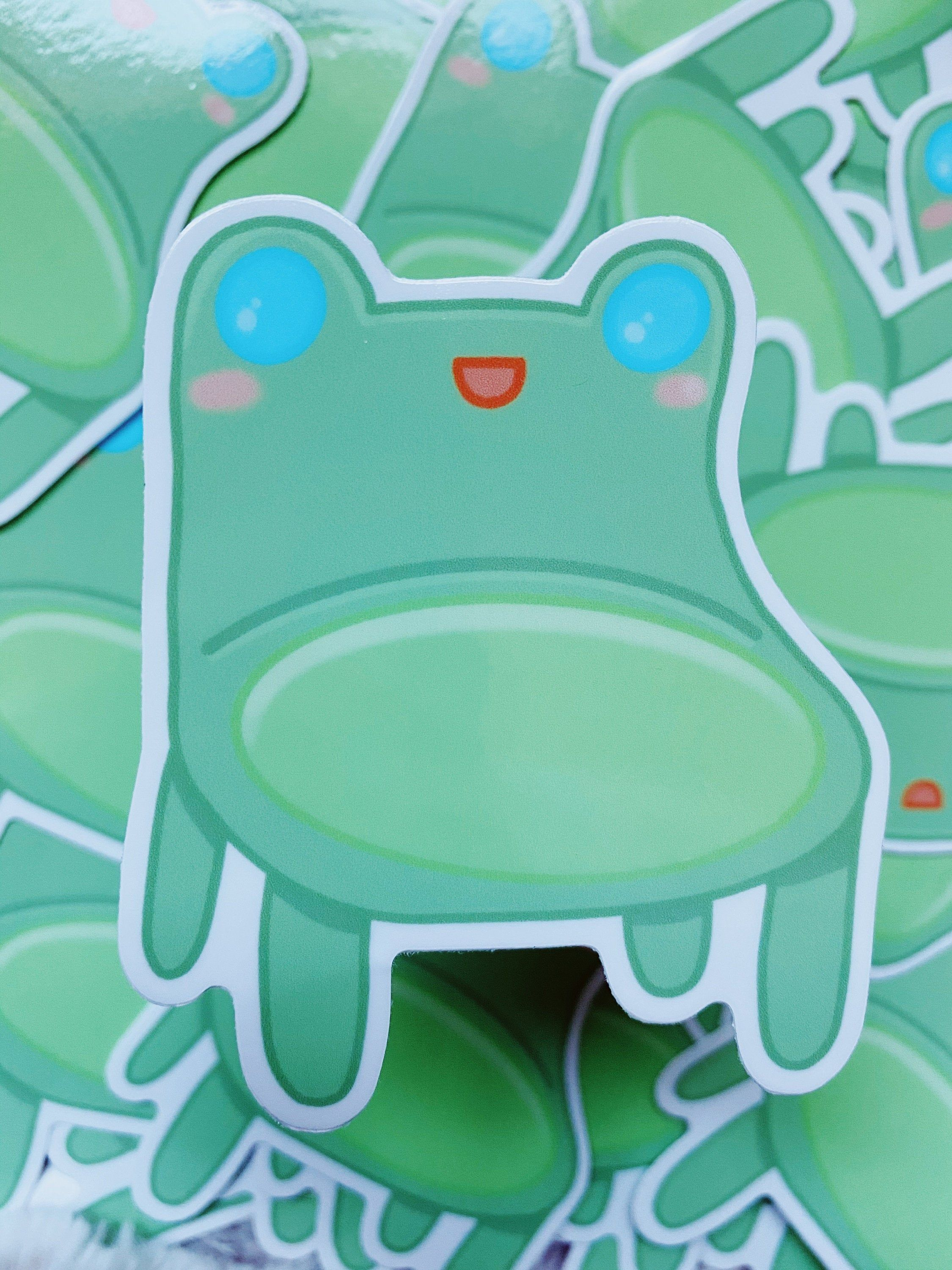 Animal Crossing Froggy Chair Sticker New Horizons Video