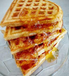 Resep Waffle Simpel Renyah Dan Enak Waffles Cooking Time Breakfast