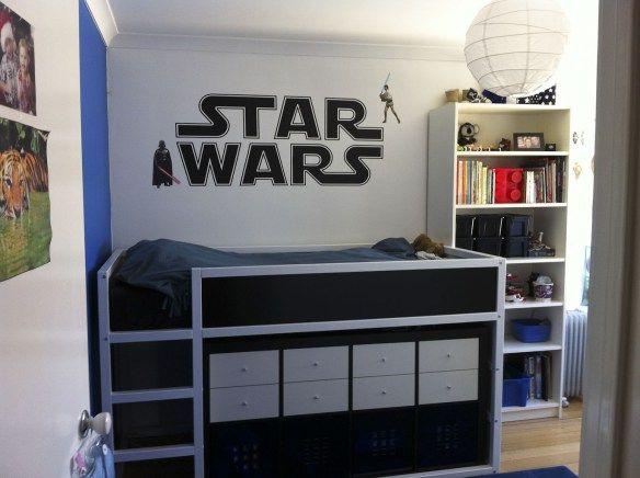 Ikea hack kinderbett  Star Wars to Starfish | Hochbetten, Star wars und Kombination