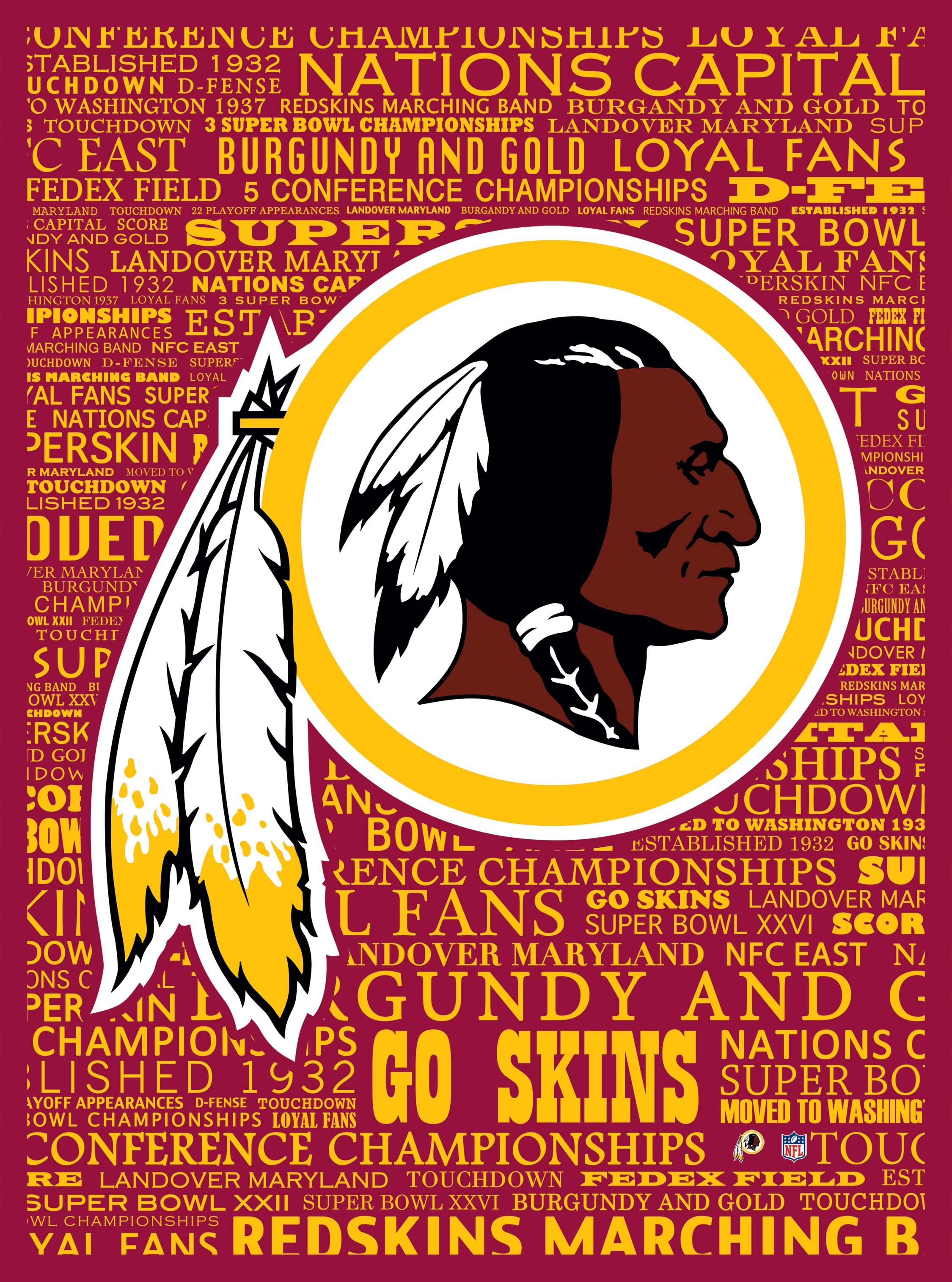 Washington Redskins typography (Marmaxx) Washington