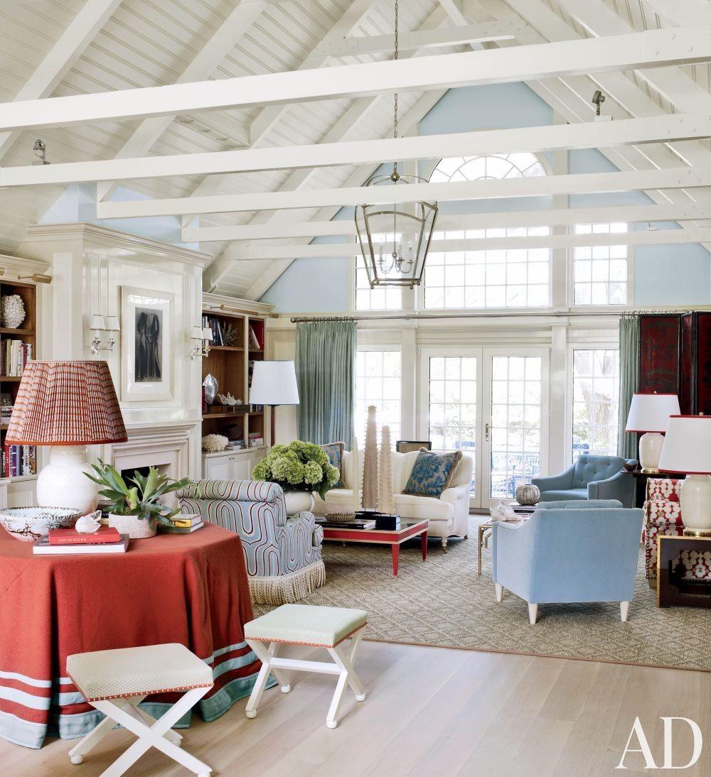 Beach Living Room by Christopher Maya and Marina Lanina Studio in ...