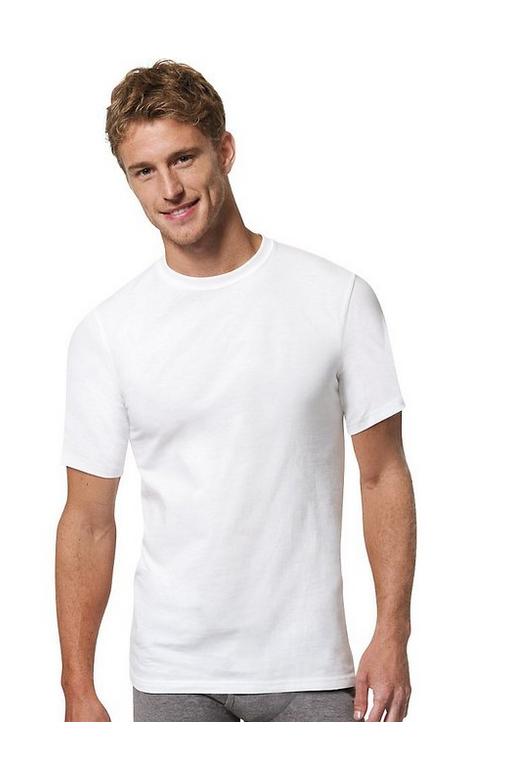 Pack of 3 Hanes Mens Tall Man Crew T-Shirt