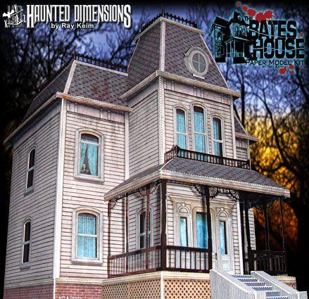 Bates House Papercraft Descarga