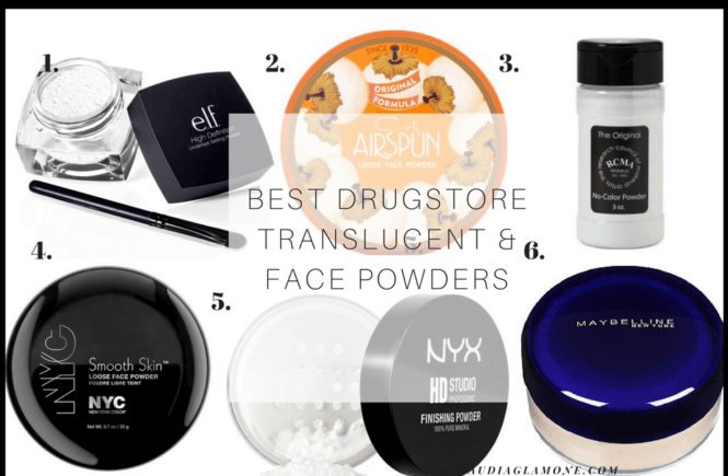 Best Drugstore Powders for Baking & Setting your Face