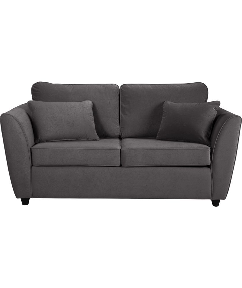 Buy Eleanor Fabric Sofa Bed - Charcoal at Argos.co.uk - Your Online Shop for Sofa beds, chairbeds and futons.