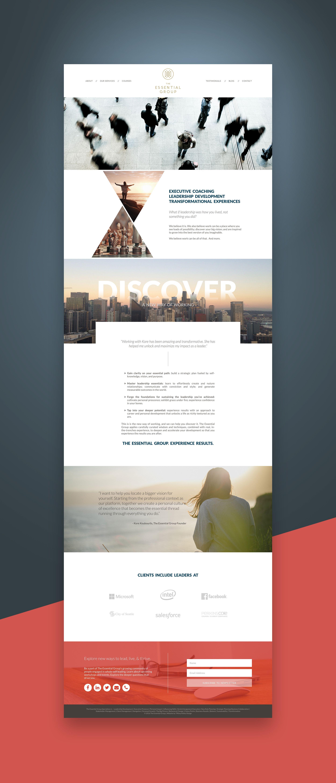 Website Design The Essential Group Professional Website Design Law Firm Website Design Website Design
