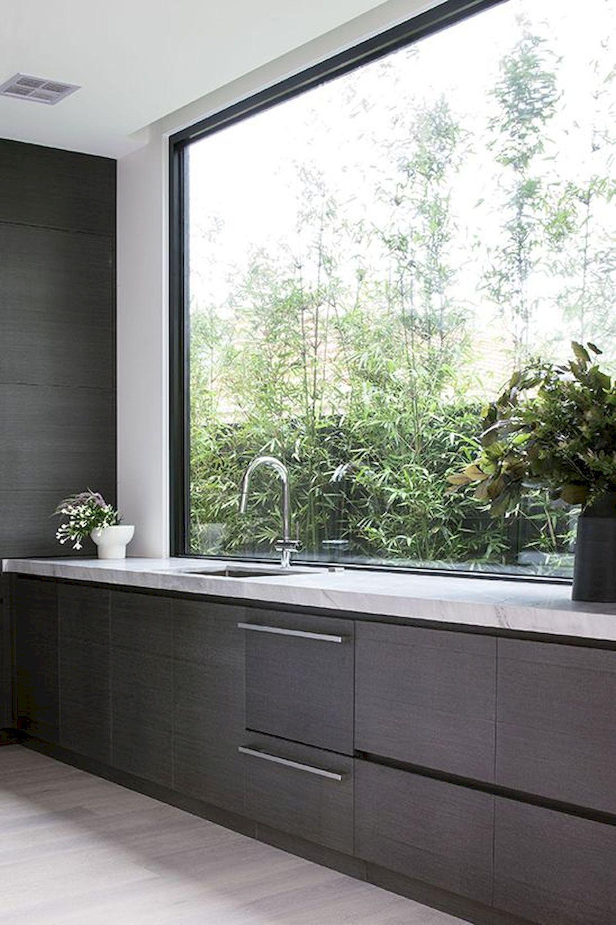 Awesome Kitchen Window Design #interiordesignkitchen