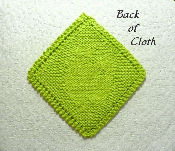 Grandmother's Favorite - PATTERN for Diagonal APPLE Knit ...