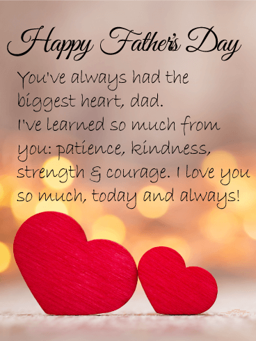 Send Free I Love You Dad Happy Father S Day Card To Loved Ones On