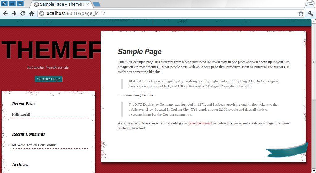 two column WordPress theme | Theme, Blog posts