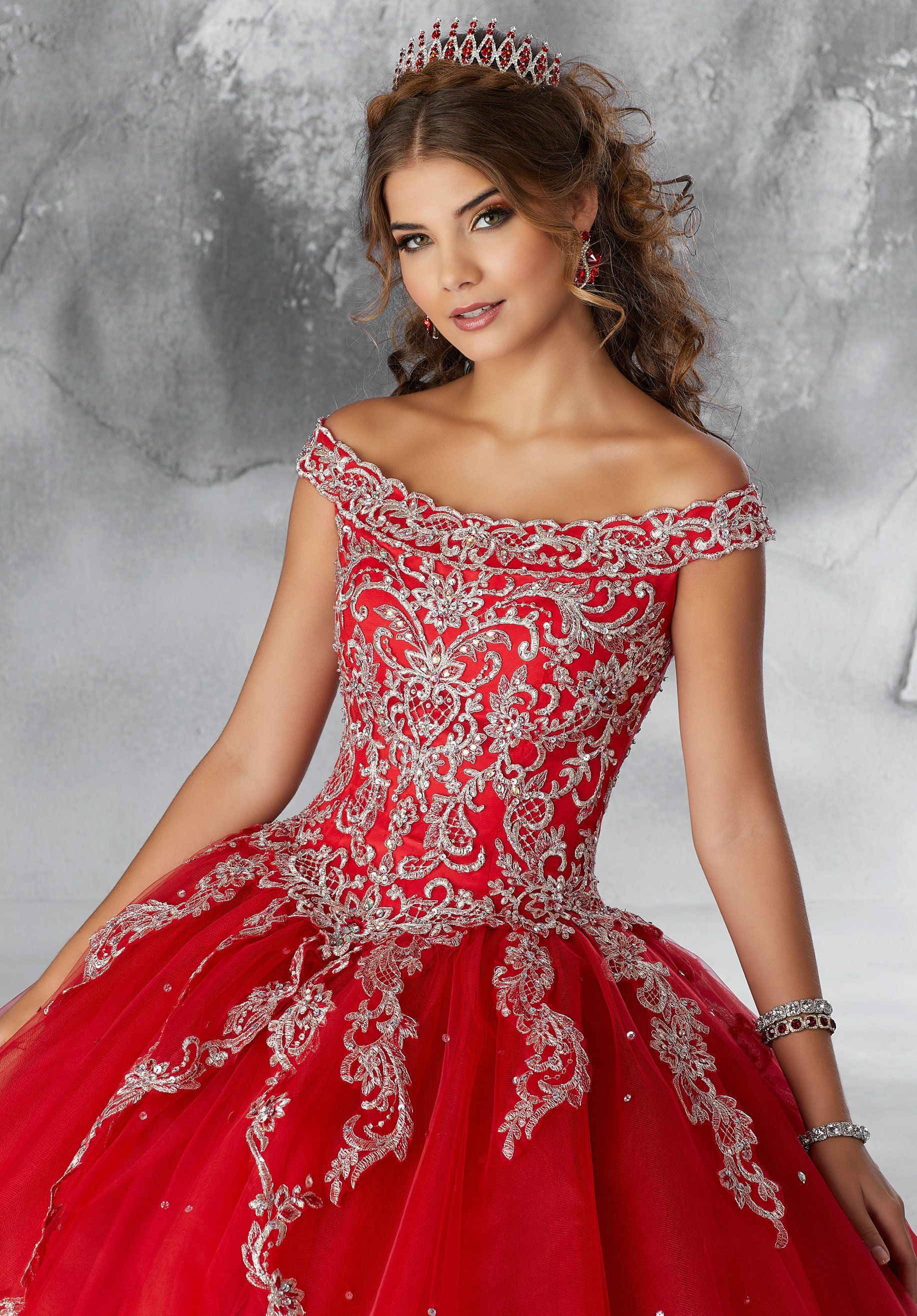 Off The Shoulder Quinceanera Dress By Mori Lee Vizcaya 89191