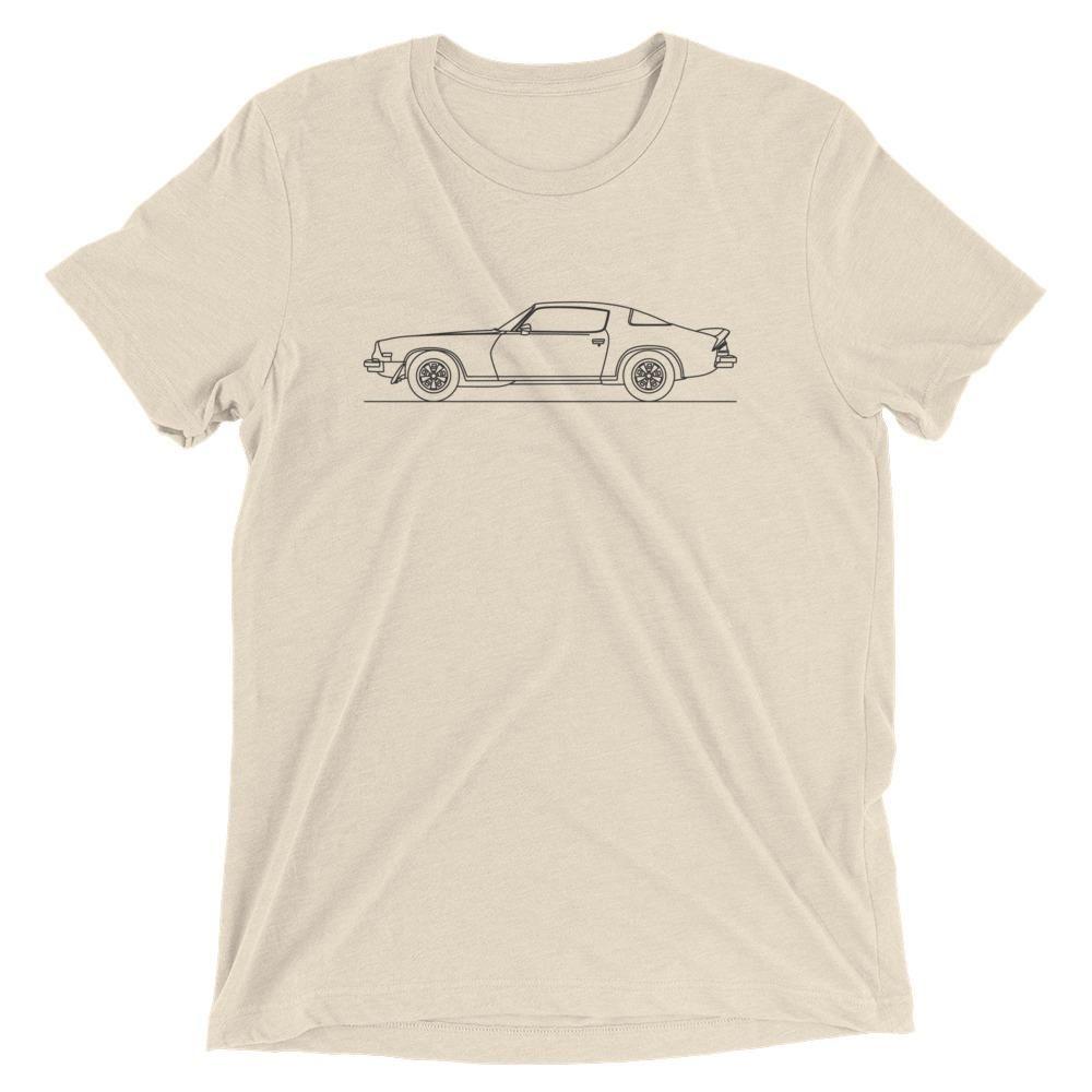 Camaro Z28 2nd Gen Minimal Line Art Tshirt Products