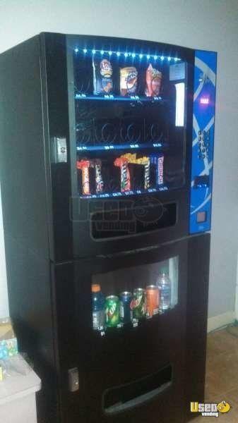 1 2011 Seaga Vista Vc630 Electronic Snack Soda Combo Vending