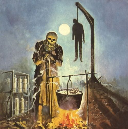 Pin By John D. Hill On Art: Pulp - Horror