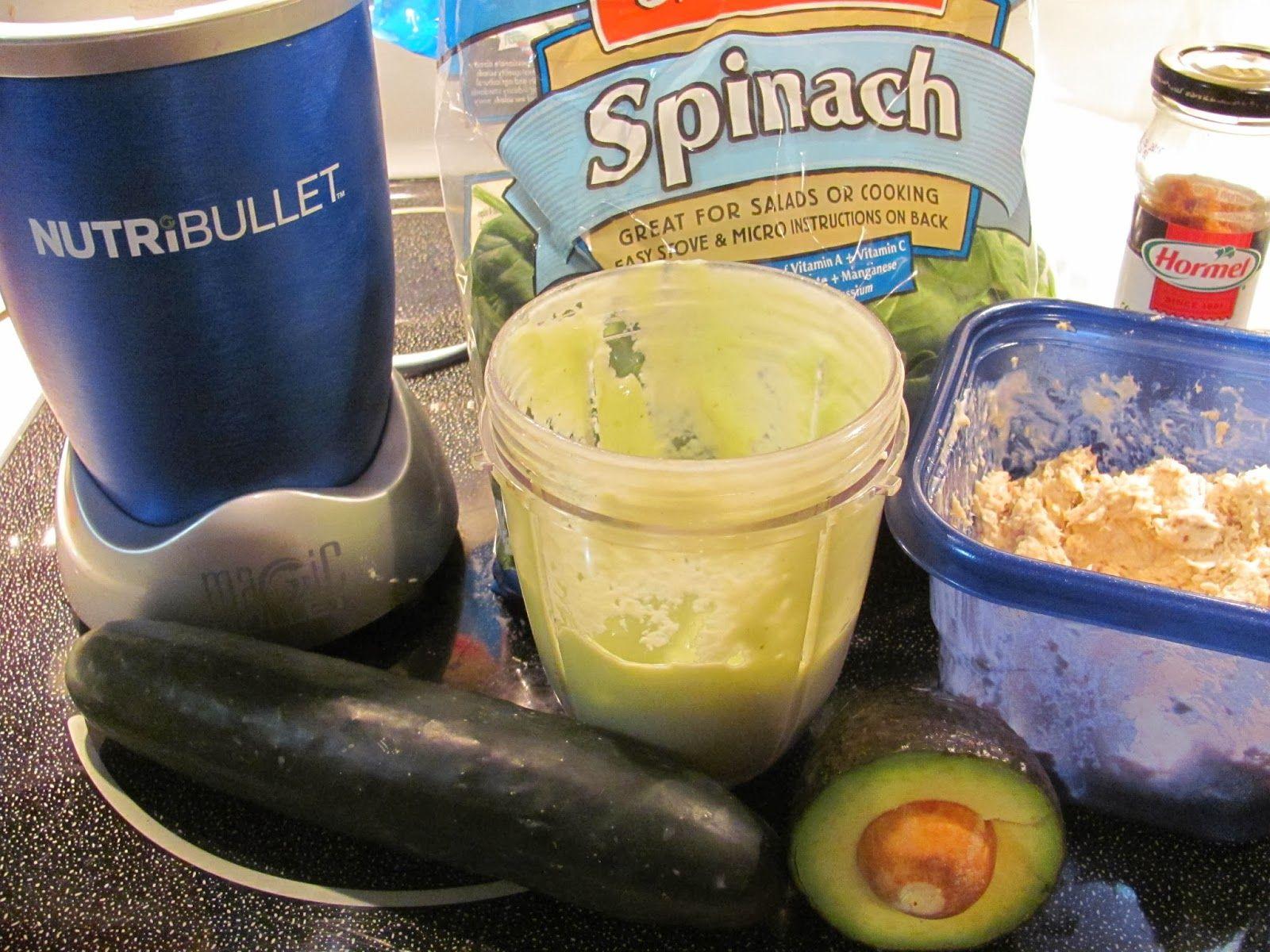 NutriBullet Chicken Salad and Avocado Dressing