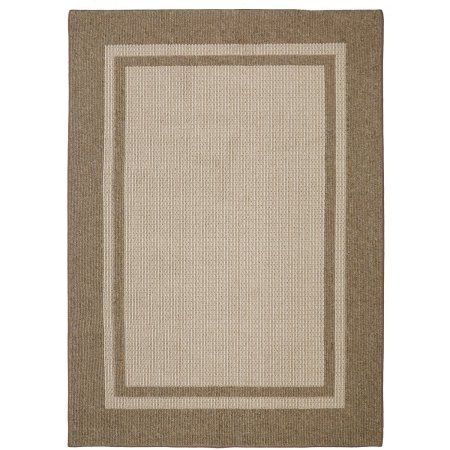 Mohawk Home Solid Border Textured Tufted Area Rug, Beige