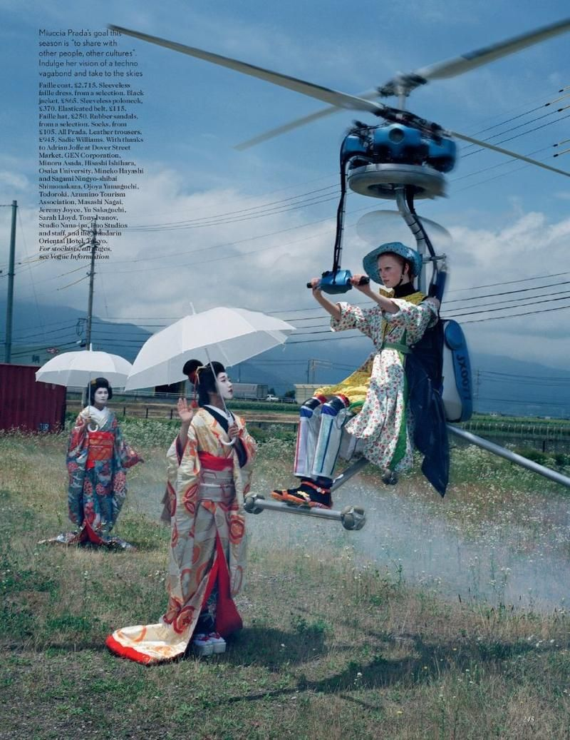 An artist of the floating world tim walker photography