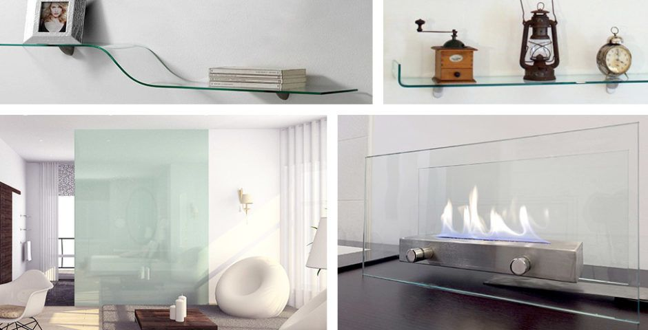 Dulles Glass And Mirror Glass Wall Shelves Glass Fireplace Screen Glass Fireplace