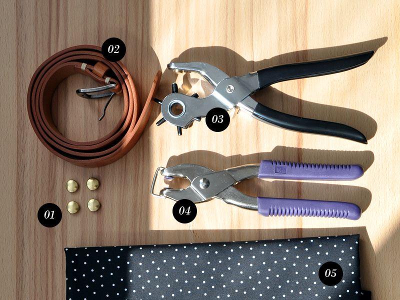 Taschenhenkel – Das brauchst du   DIY   Pinterest   Leder, Tasche ...