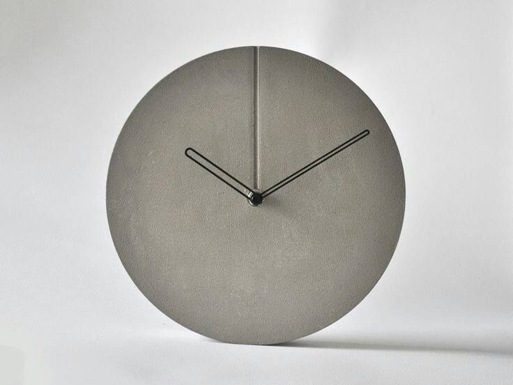 Gießformen Für Beton ᐅᐅ kreativ beton clocks crafty and living rooms