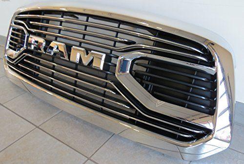 2015 2016 Dodge Ram 1500 Chrome Laramie Limited Front Grille Mopar Oem Ram 1500 Dodge Ram Dodge Ram 1500