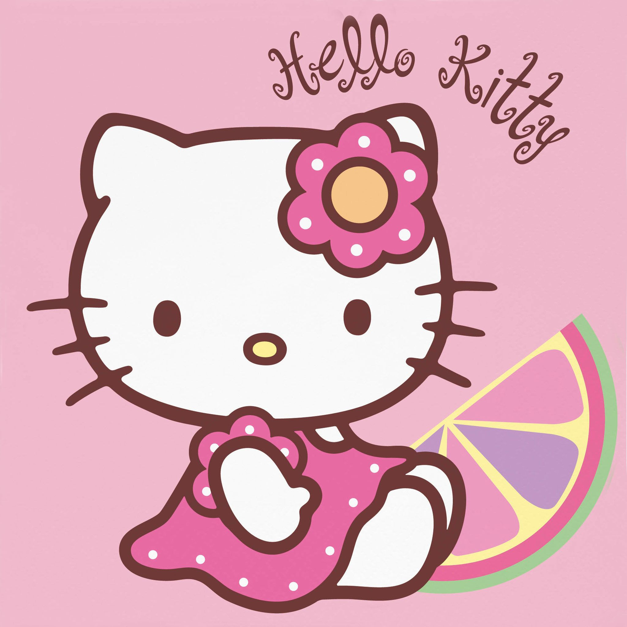 Hello Kitty With The Fruit - Tap to see more cute hello kitty ...