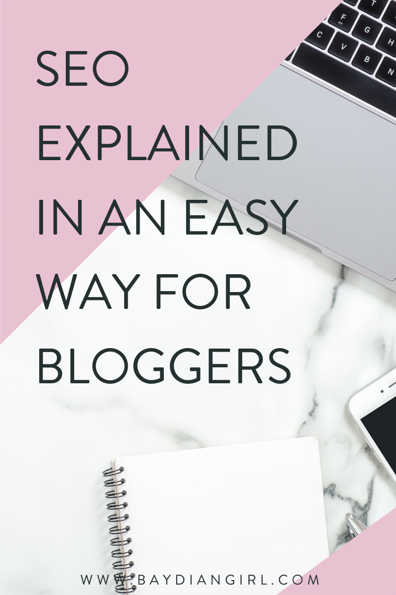 SEO Explained In An Easy Way For Bloggers | SEO tips for bloggers, search engine optimization, seo tips and tricks, seo tips for beginners | #seo #digitalmarketing #marketingtips #seotips