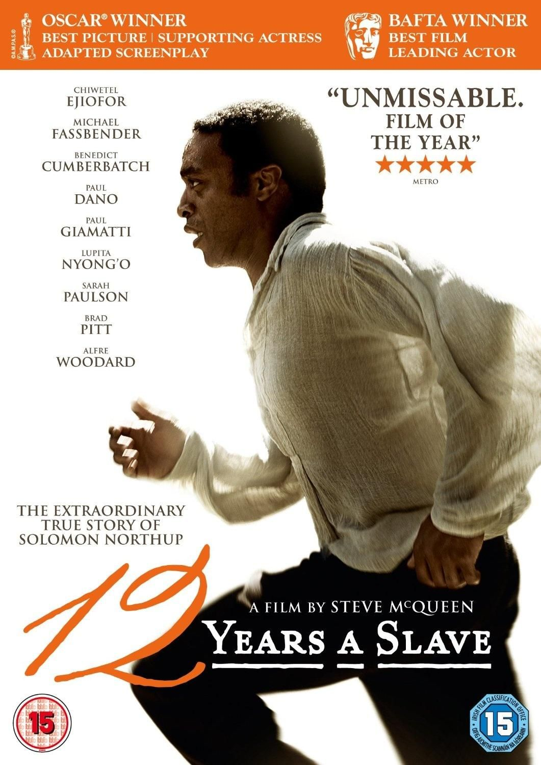12 Years A Slave DVD review