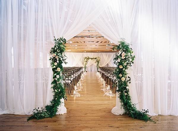 Love The Idea Of Being Able To Hide The Bride Until Right Before Huguenot Mill And Loft Venue Loft Wedding Ceremony Historic Wedding Venue Loft Wedding