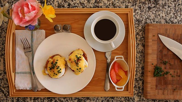 Breakfast in Bed, Operation: Eggs Benedict