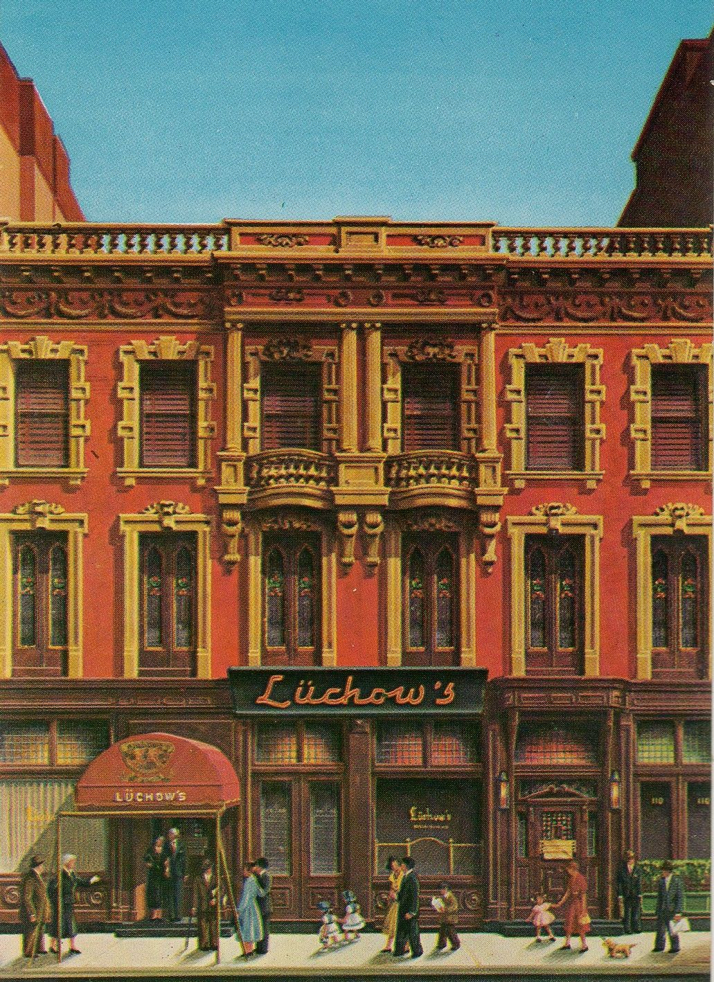 Legendary Lüchow's On East 14th Street