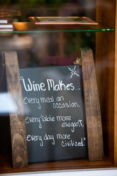 Love this wine quote