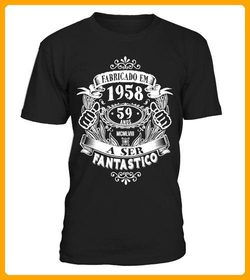 Fabricado em 1958 59 anos - Shirts für eltern (*Partner-Link)