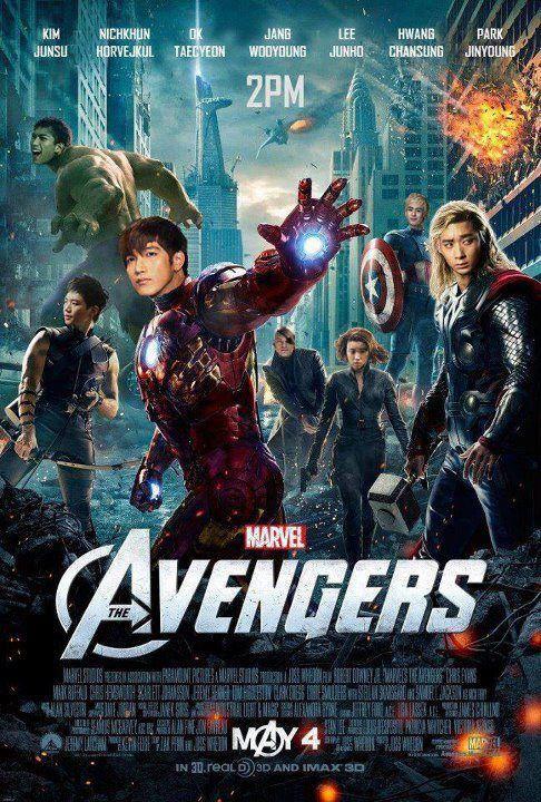 {14052012} 2PM Chansung's (@2PMagreement211) twitter update >> ❝싱크로율 대박 !!!! 어벤져스 투피엠버젼!!!ㅋㅋㅋㅋㅋㅋ 진영이형이 우리를 다 모았군요 음하하 찬토르ㅋㅋㅋㅋㅋ 옥크 ㅋㅋ 준호크아이 ㅋㅋㅋㅋㅋㅋㅋ❞ (The sync is awesome!!! Avengers 2PM version!!!ㅋㅋㅋㅋㅋㅋ Jinyoungie hyung has gathered as all, huh Mwahaha Chanthor ㅋㅋㅋㅋ Ok-hulk ㅋㅋ Junhawkeyeㅋㅋㅋㅋㅋㅋㅋ) << trans by www.2pmalways.com