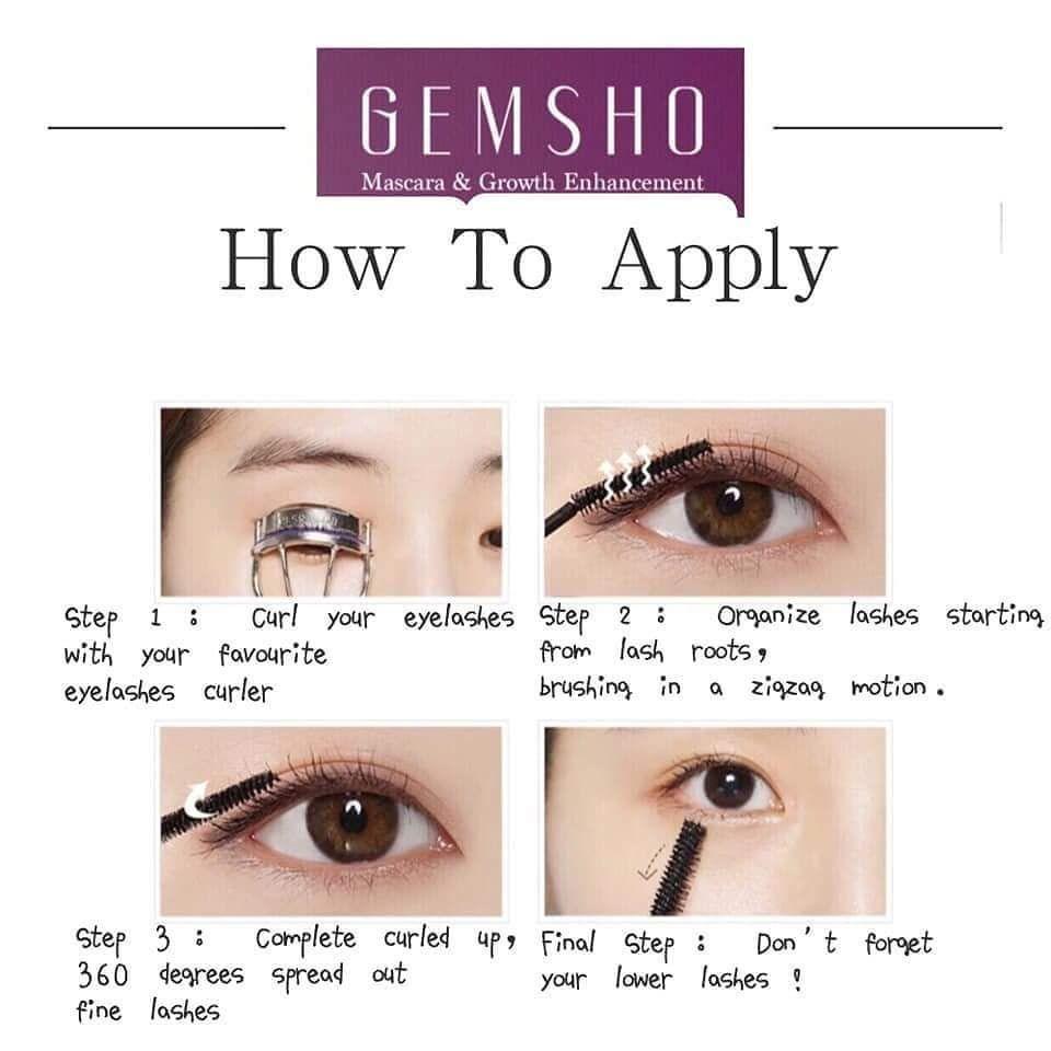 ApplyingMascara  How to apply mascara, Mascara tips, Mascara