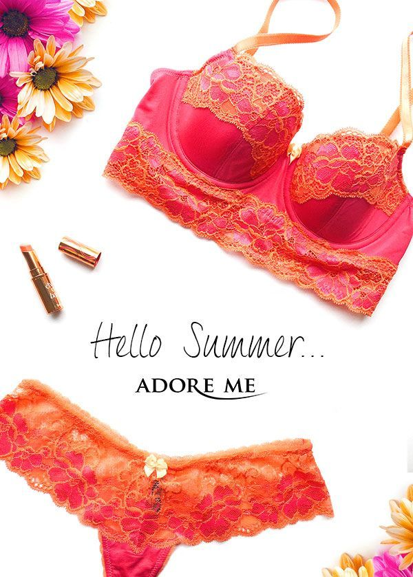 bc53dbb2a0c Love lingerie? Join Adore Me's VIP Membership and get your first bra and  panty set for 50% off! Every month from there on out, you'll get to choose  one set ...