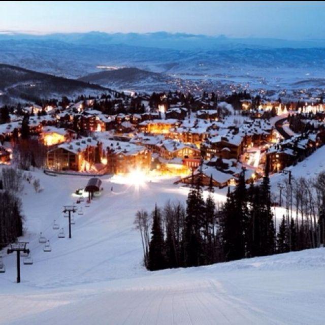 Places To Live Salt Lake City: Park City, Utah. - Deer Valley Ski Resort