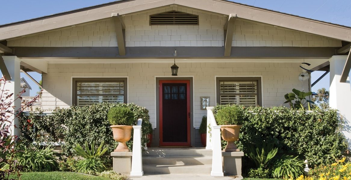 CraftsmanStyle Home Paint Color Inspiration Gallery Behr Home - Craftsman style exterior house color combinations for homes