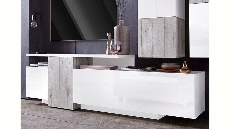 Tecnos XXL-Lowboard, Breite 220 cm Jetzt bestellen unter   - wohnzimmer bilder xxl