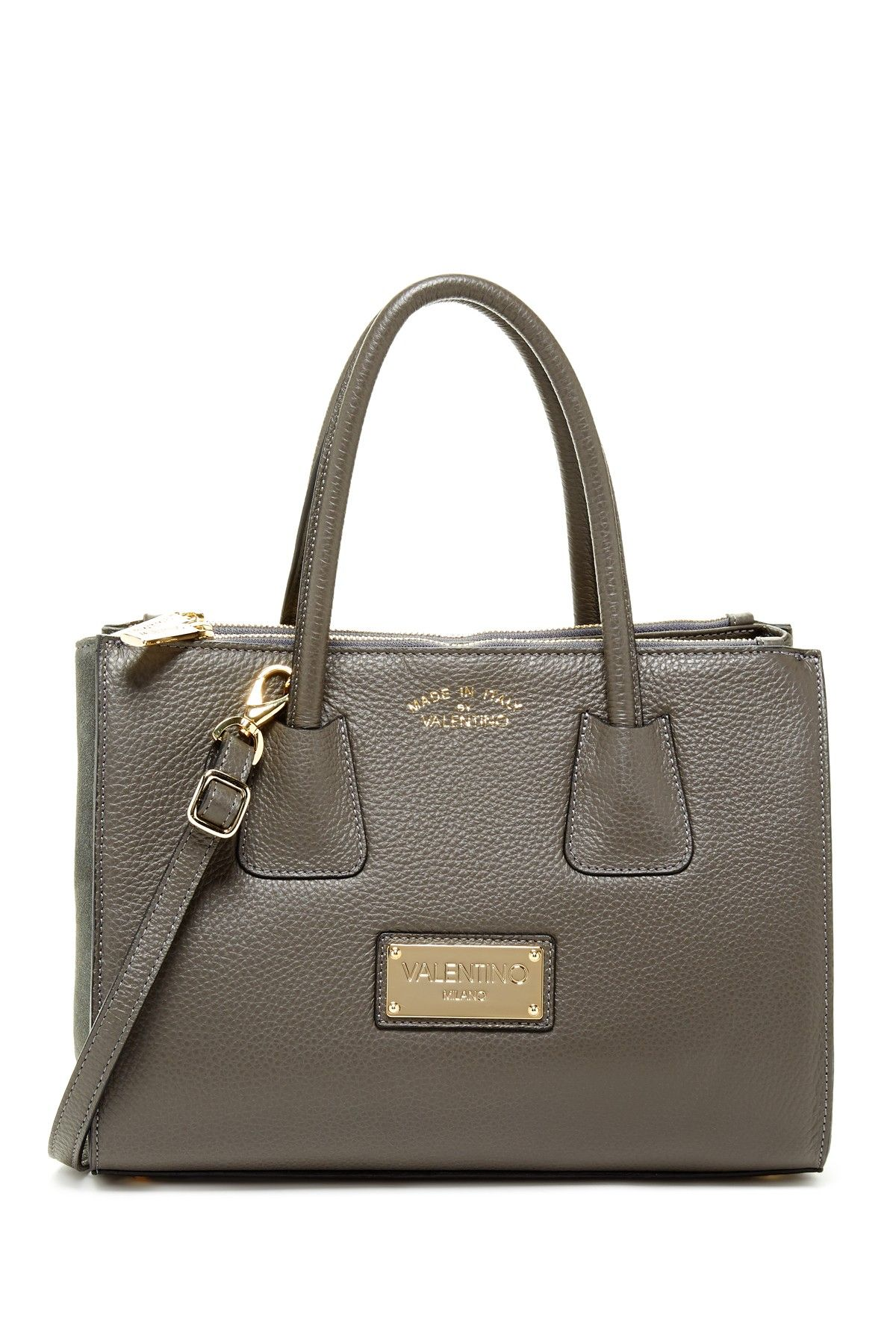 Patio Genuine Leather Satchel by Valentino By Mario Valentino on @nordstrom_rack