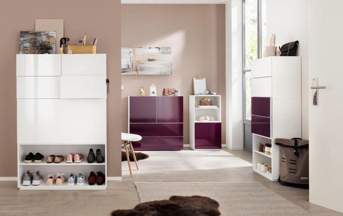 Wohnzimmer spiegelmöbel modul  module weiß yourhome jetzt bestellen unter