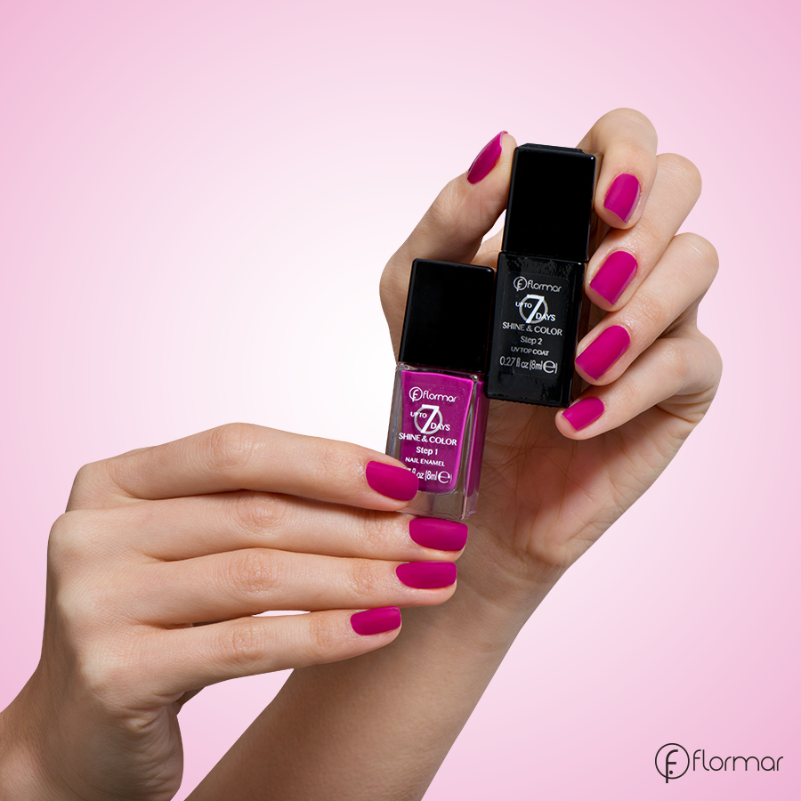 Full color nail art - Have You Met Up To 7 Days Shine Color Nail Enamel 40 Deep Fuchsia