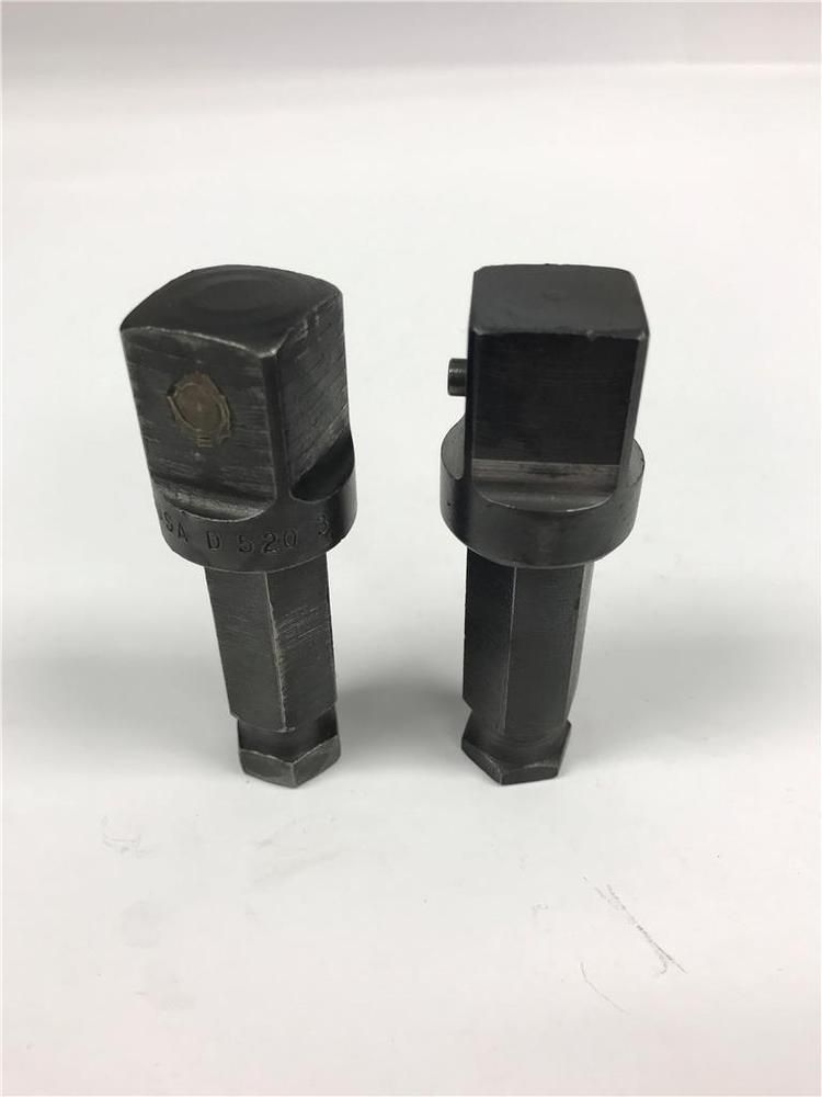 Cornwell 5 8 Hex X 3 4 Square Adapter For Impact Driver 2pc Lot D520 3 Cornwell Impact Driver Screwdriver Bits Hex