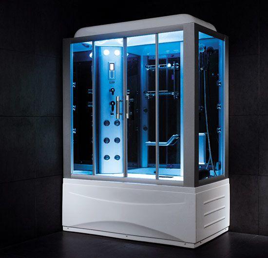 Steam Shower Luxury Bathroom Bathroom Interior Design Sauna Shower