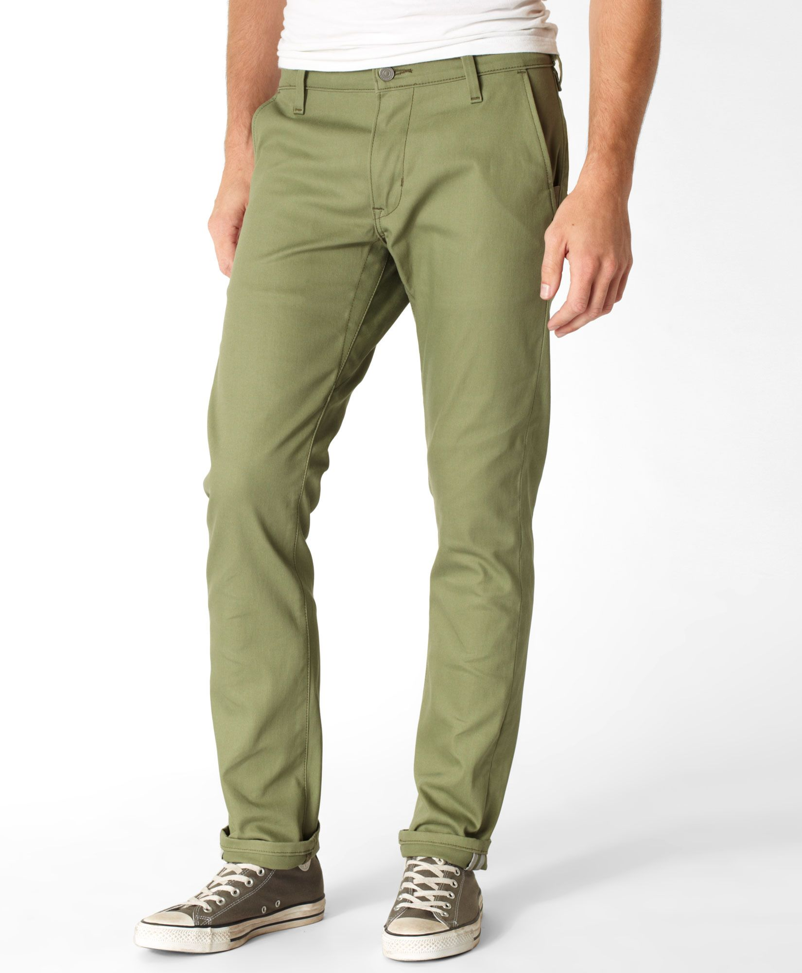 59b9963af92 Levi s 511™ Commuter Trousers - Lichen Green - Trousers