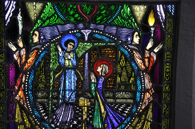 (Harry Clarke) CONG - the Annunciation by Fergal of Claddagh, via Flickr