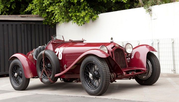 Most Expensive Cars Sold At Auction 25 1933 Alfa Romeo 8c 2300