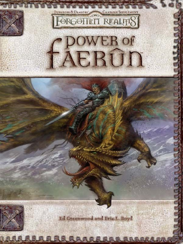 Power of Faerûn (3 5) - Forgotten Realms | Book cover and interior