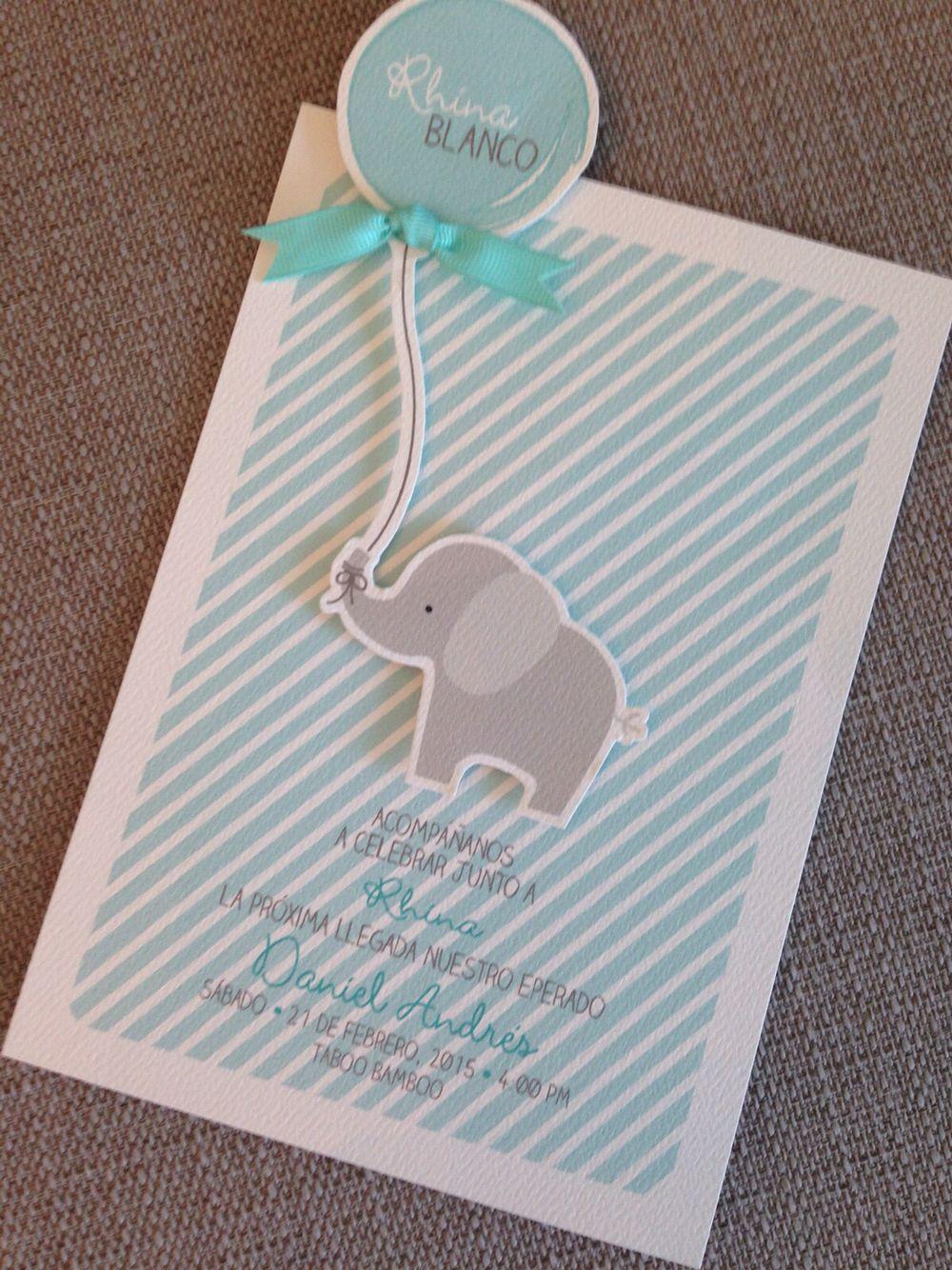 Preciosa Tarjeta Para Un Baby Shower Babyshower
