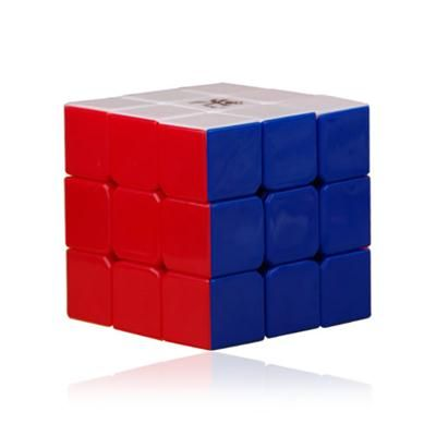 The classic Rubiks Cube 3x3 challenges players to solve it by turning each of the sides into consistent color. Start to watch the gears move as you twist and turn it.